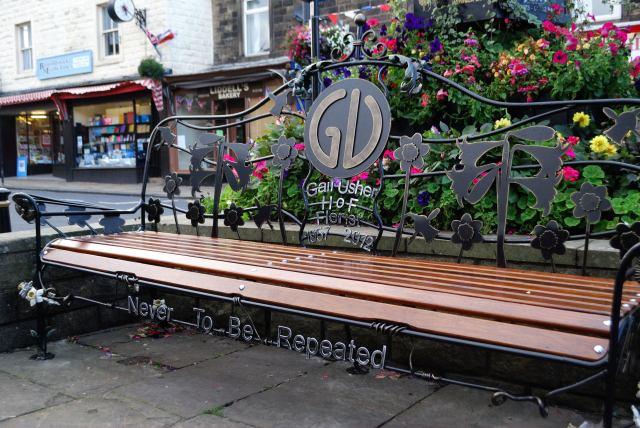 Bench In Memory Of My Partner- Gail Usher
