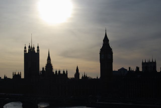 A Wintery Dusk - Houses Of Parliament