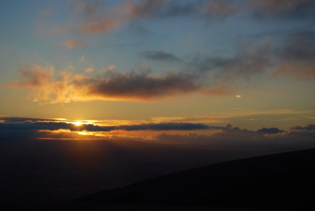 Dusk From Pendle Hill