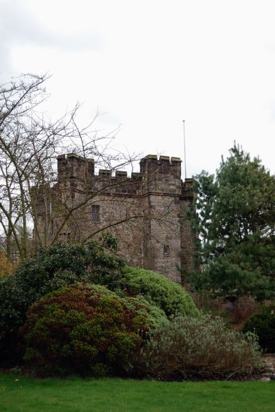 Whalley Abbey gate house (I'm staying in Wahlley)